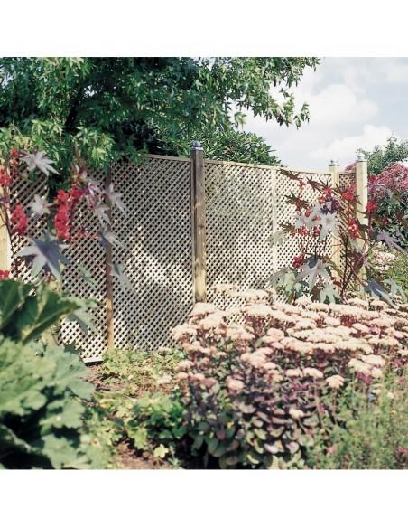 Treillage en bois jardin