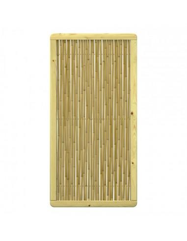 Palissade claustras en bambou