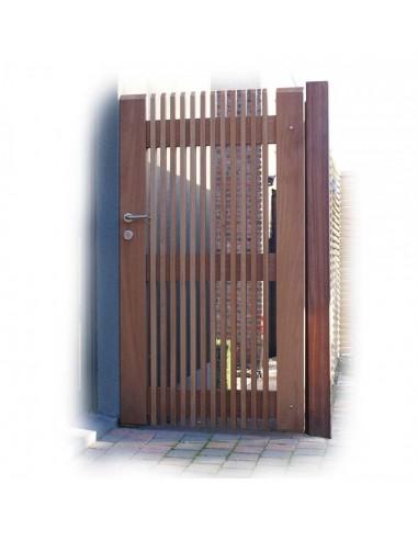 Portail de jardin design