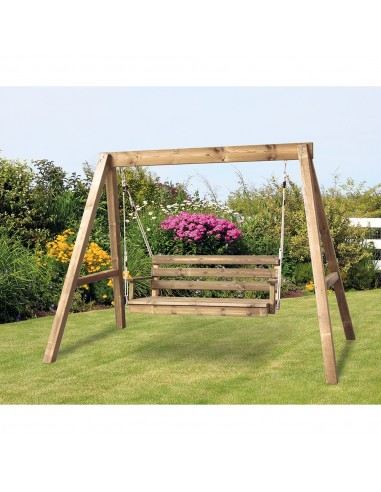 Balancelle de jardin en bois