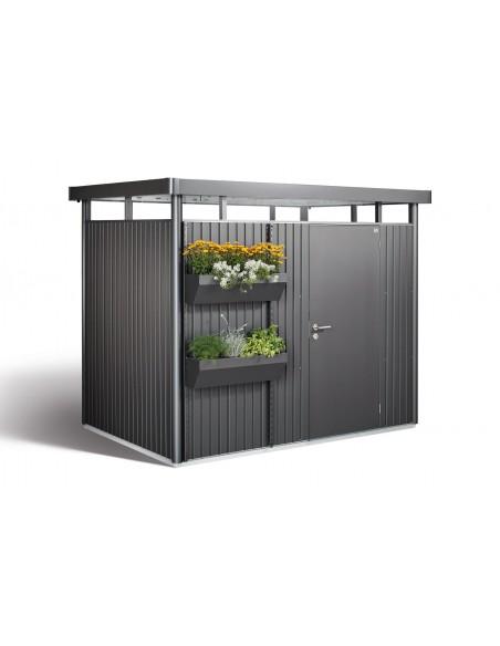 Abri de jardin Higline porte simple