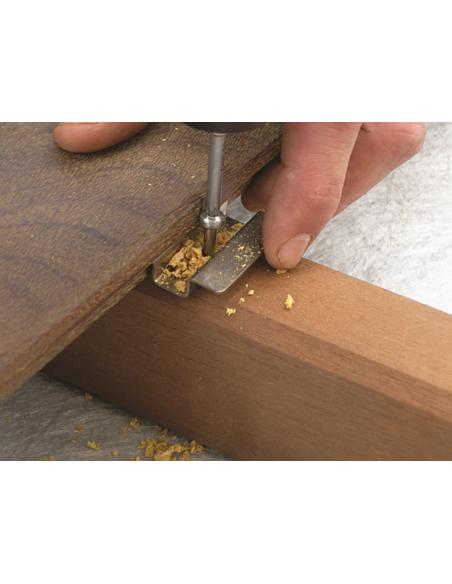 Fixation invisible pour planche de terrasse B-fix