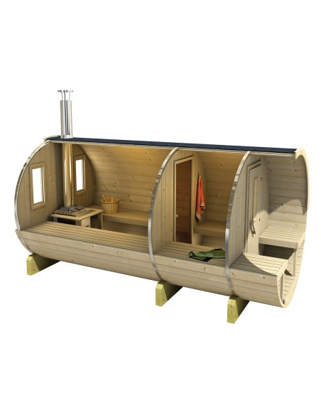 Sauna de jardin Zaventem