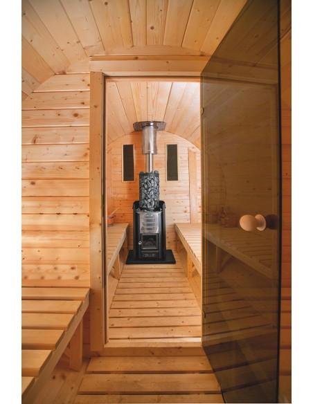 Poêle à bois pour sauna