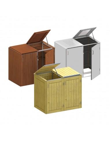 Abris poubelles