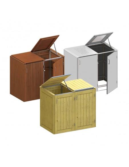 Afval schuilplaatsen
