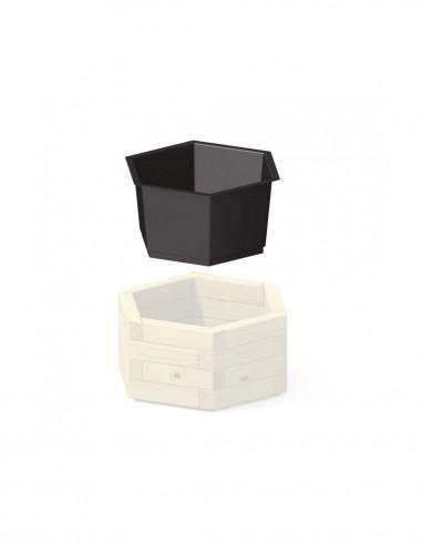 Bac de protection hexagonale
