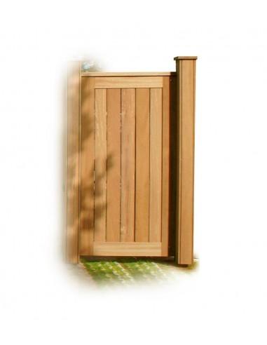 Moderne deur en poort