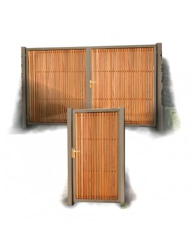 Chic poort en deur