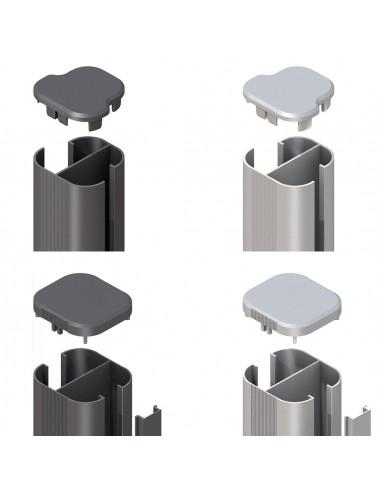 Aluminium paal voor beton