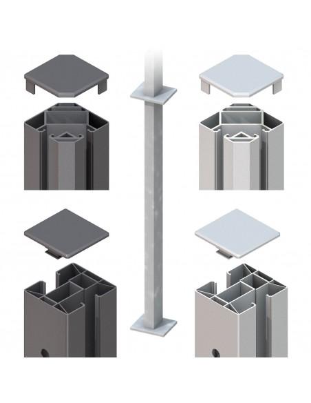 Paal voor beton Clips