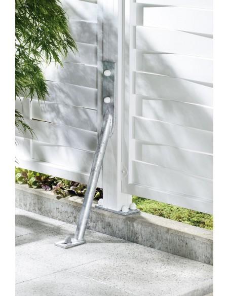 Stormanker voor het beschermen van poorten en tuinschermen