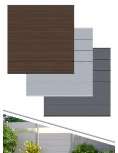 Palissade en bois composite XL