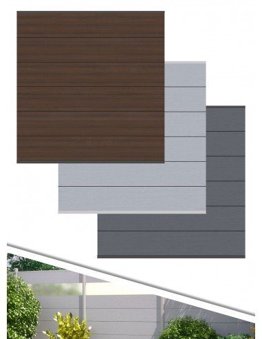 windscherm houtcomposiet XL