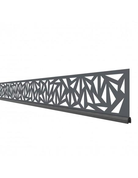 Deco profiel voor houtcomposiet en aluminium