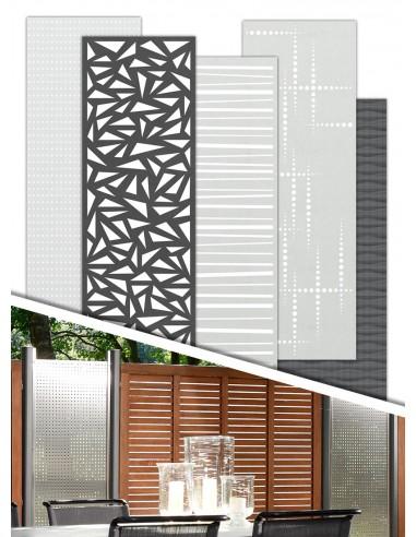 Panneaux décoratif pour palissades