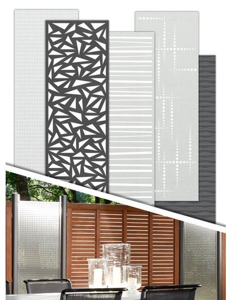 Decoratieve panelen voor schermen