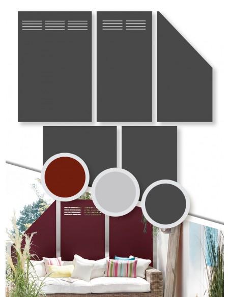 Panneau de jardin en aluminium