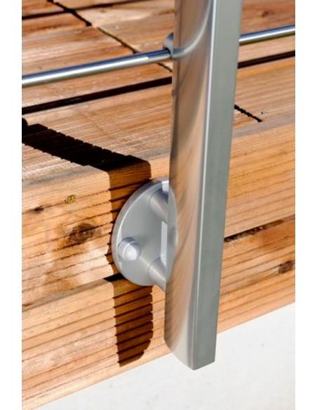 Balustrade houtdraadbouten voor hout (4 st.)
