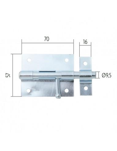 Box knop slot