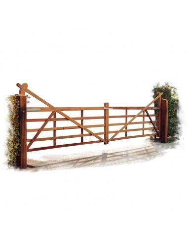 Barrière de manège chevaux