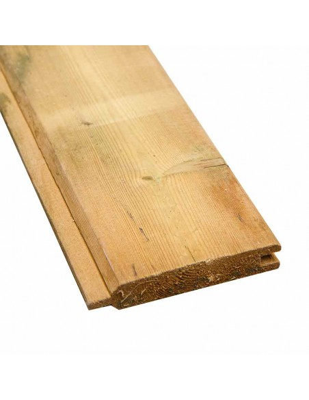 Plank met tand en groef