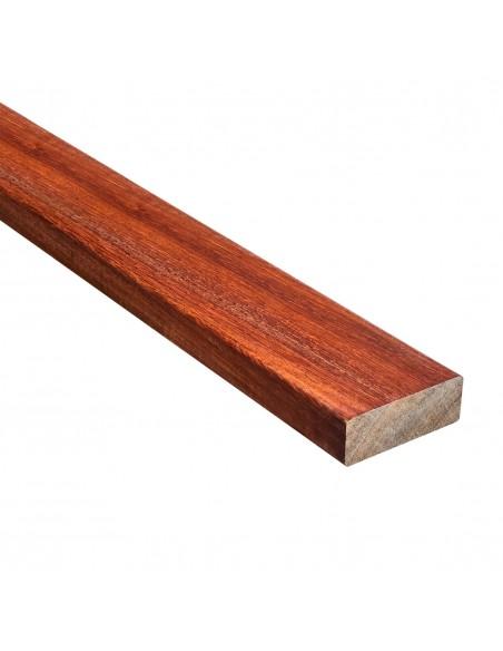 Dunne exotisch houten lat