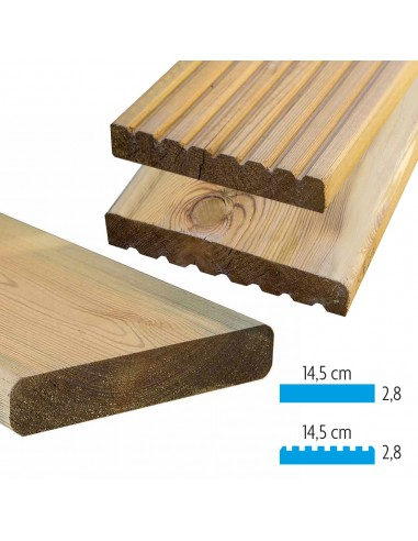 Spar plank
