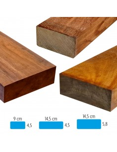 Solives en bois exotique