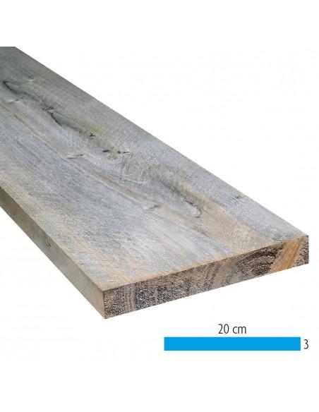 Planche en bois brute