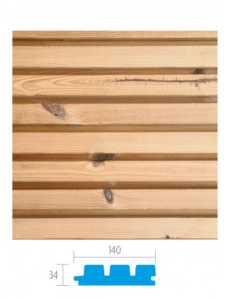 Bekleding in Thermowood