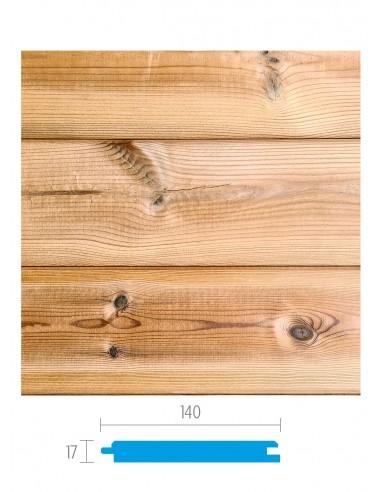 Finse naaldhout gevelbekleding