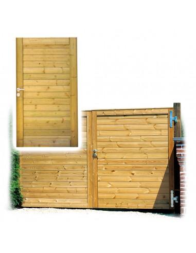 Porte de jardin et portail massief