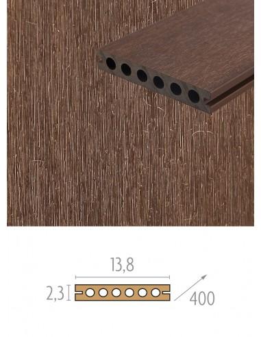 Planches de remplacement pour terrasse en bois composite
