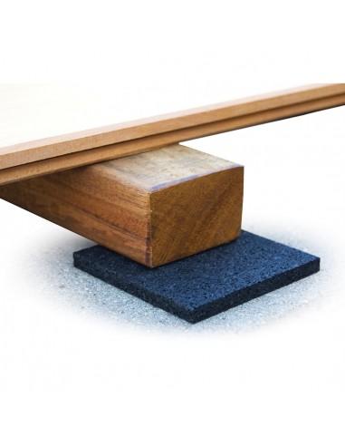 Tapis de lambourde pour terrasse