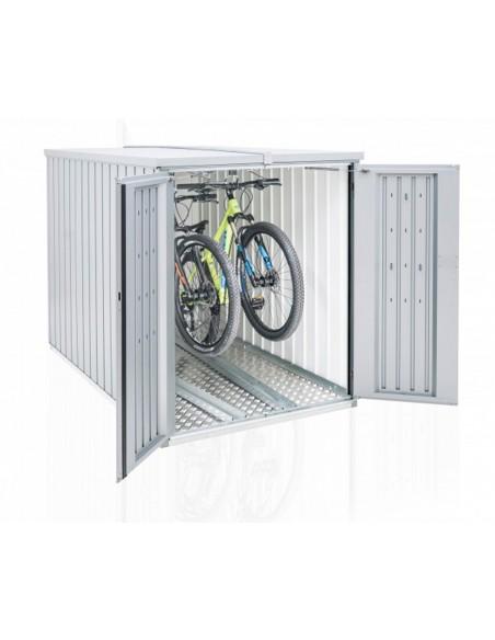 Abri vélo en métal