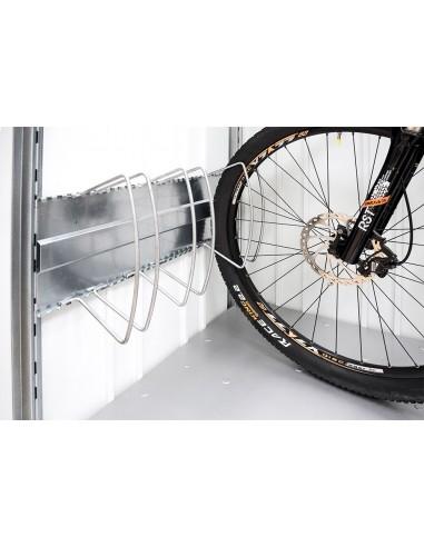 Range vélo pour box en métal