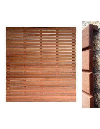 Ecran de jardin en bois