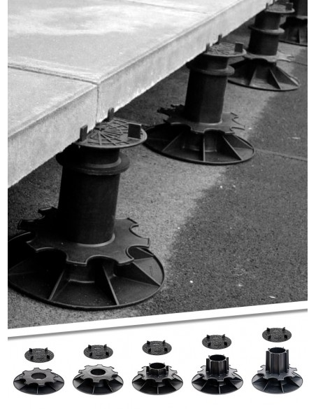Plots pour dalle de terrasse