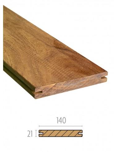 Planches de terrasse Hardwood Clip