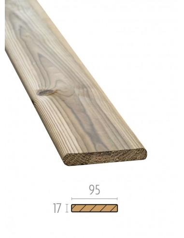 Planches de terrasse lisses