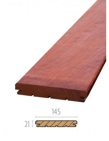 Planche de terrasse en bois exotique B-Fix