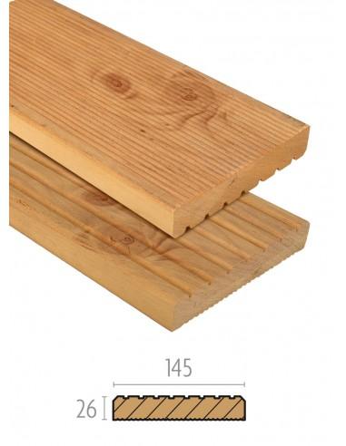 Grof hardhout planken