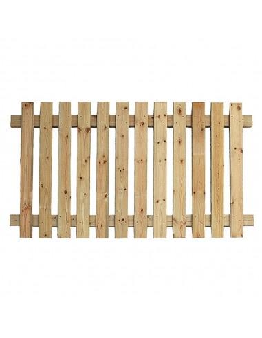 Clôture en bois jardin