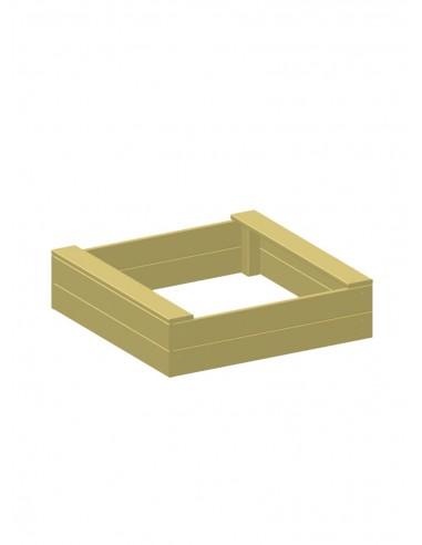 Frame voor vierkante moestuin