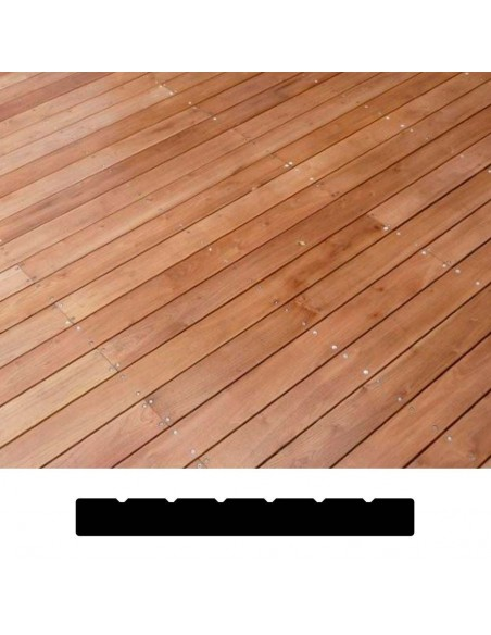 Terras in Thermowood Dennen