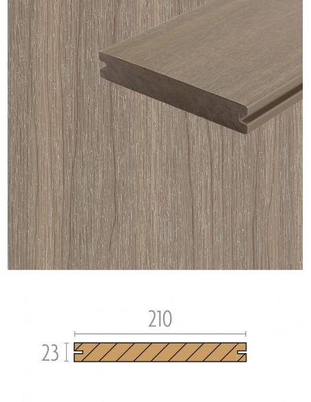 Terrasse en bois composite Multigrey Light