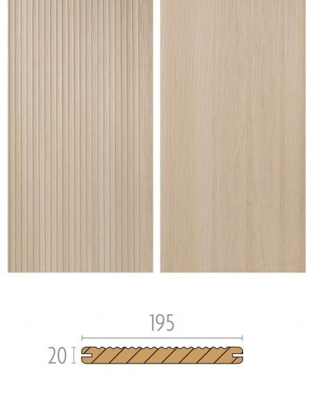 Terras in houtcomposiet Oak Deck