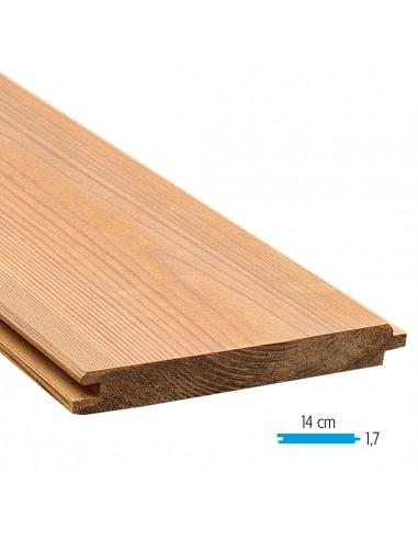 Planche en thermowood rainure et languette