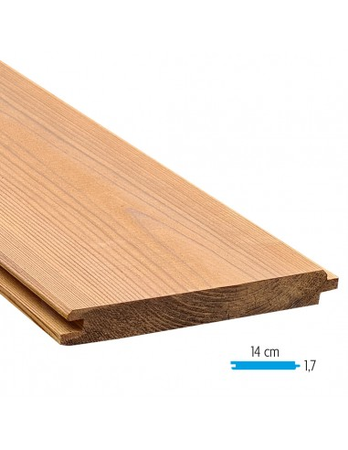 Thermowood plank